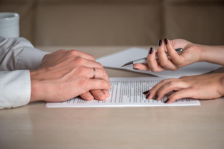 Ehepartner und Ehevertrag